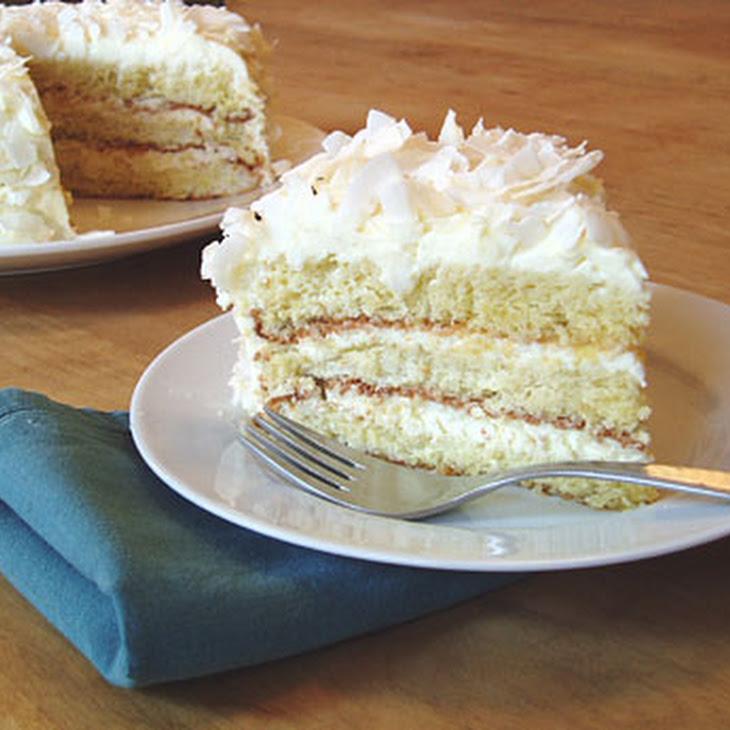 Gluten-Free Coconut Layer Cake Recipe — Dishmaps