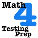 4th Grade Math Testing Prep icon
