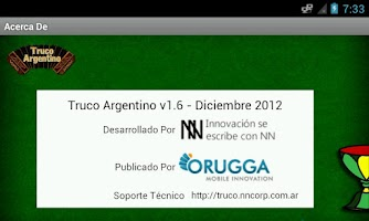 Screenshot of Truco Argentino Online