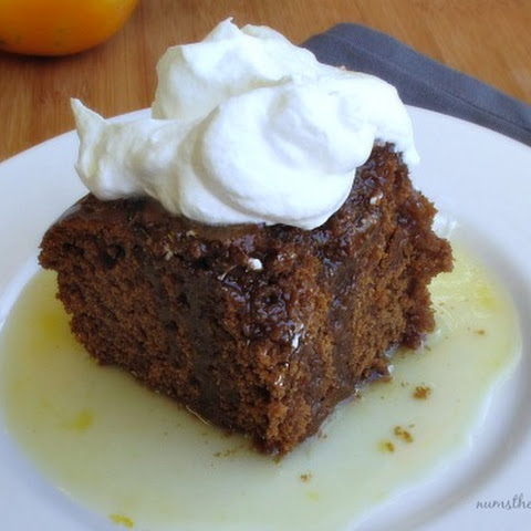 Gingerbread with Orange Sauce