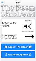 Screenshot of The Room Movie Soundboard