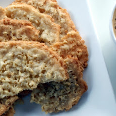 Wheat-Free Oatmeal Lace Cookies