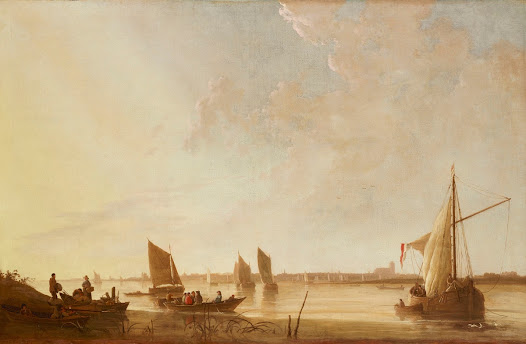 Almost forty years later, Helen Clay Frick, Mr. Frick's daughter, visited the Netherlands again, this time compiling a detailed scrapbook describing her trip. On September 15, 1932, she passed through Dordrecht, the subject of a Cuyp painting in her father's collection.