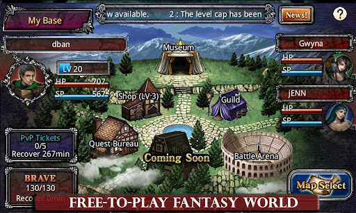 fallen-realms for android screenshot