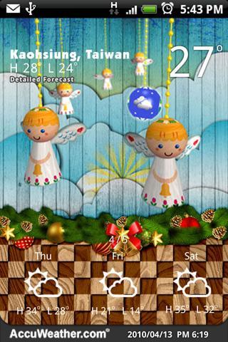 9s-Weather Theme+ Christmas