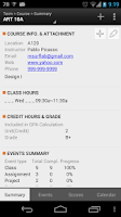 Screenshot of Class Buddy: Student planner