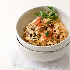 Gluten Free Tuna Puttanesca with Pasta