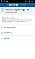 Screenshot of Everest University Online