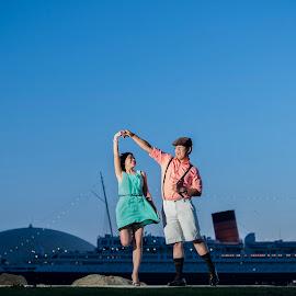 Love is Fun by Yansen Setiawan - Wedding Other ( creative, art, losangeles, fun, illusion, love, yansensetiawanphotography, fineart, prewedding, d800, wedding, lifestyle, la, photographer, yansensetiawan, nikon, yansen, engagement )