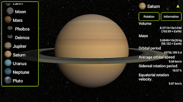 Screenshot of Solar3D