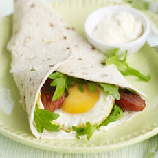 Chorizo & Fried Egg Wraps