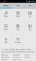 Screenshot of SD Card File Explorer Pro