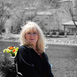 Christine at Broadmoor by Hannah Maison - Digital Art People ( broadmoor, christine, brunch, spring )