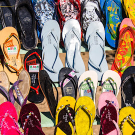 Flip flops by Mike O'Connor - Sports & Fitness Watersports ( market, store, flip flops, sandals, shos,  )