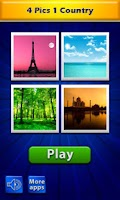 Screenshot of 4 Pics 1 Word - Countries