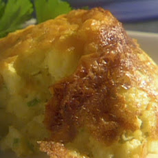 Green Onion and Cheddar Spoonbread