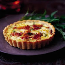Mussel, Bacon & Brie Tartlets