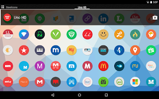 Screenshot of Uno HD Multilauncher Theme