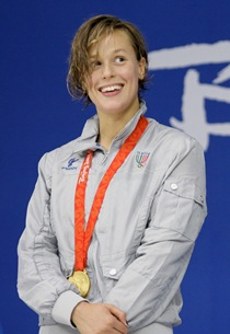 Beijing Olympics Swimming Womens 200M Freestyle