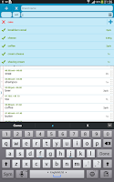 Screenshot of Shopping List QuickGroceryPro