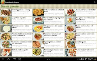 Screenshot of Receptfavoriter recept