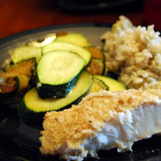 Citrus Orange Roughy Packets With Zucchini