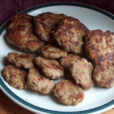 Renal-Friendly Homemade Sausage Patties
