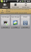 Screenshot of Super App Manager