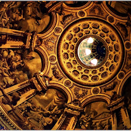 St Paul's Cathedral Ceiling by Kathy Hancock - Buildings & Architecture Architectural Detail ( england, archicture, details, london, church, Architecture, Ceilings, Ceiling, Buildings, Building )