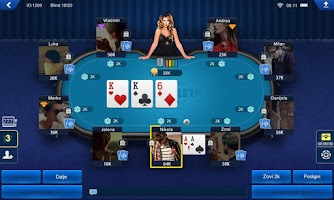 Screenshot of Balkan Hold'em HD