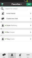 Screenshot of Bobsled - Messaging