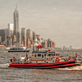 FDNY Ever Vigilant by Linda Karlin - News & Events US Events ( architecture, news & events, landscape )