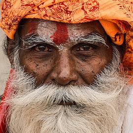 Devi Das Baba by Rakesh Syal - People Portraits of Men