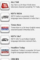 Screenshot of Shortcut India(Live Mobile TV)