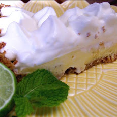 Mojito Pie (Lower Fat Than Regular Key Lime Pie)