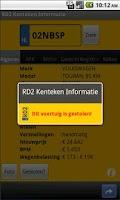 Screenshot of RD2 Vehicle Info