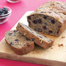 Walnut Blueberry Banana Bread