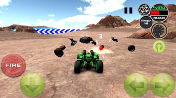 Screenshot of Doom Buggy 3D Racing