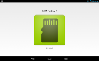 Screenshot of ROM Factory 2