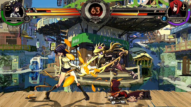 Skullgirls will be back on PSN this week