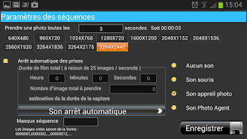 Screenshot of Photo Séquence