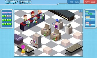 Screenshot of Laundry Tycoon HD Lite