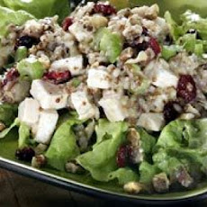 Turkey, Wild Rice and Cranberry Salad