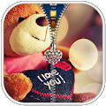Teddy Bear Zipper Lock APK for Bluestacks
