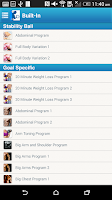Screenshot of Fitness Buddy : 300+ Exercises