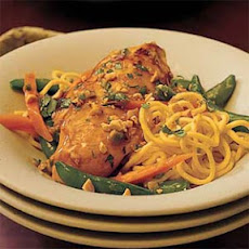 Gingered Chicken with Noodles