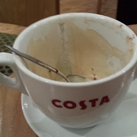 Enjoying a cappuccino 😀 by Dean Burton - Food & Drink Alcohol & Drinks