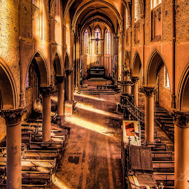 Abadoned church by Eric Baak - Buildings & Architecture Decaying & Abandoned ( church, abandoned )