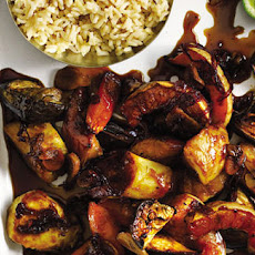 Caramel Soy Roast Vegetables