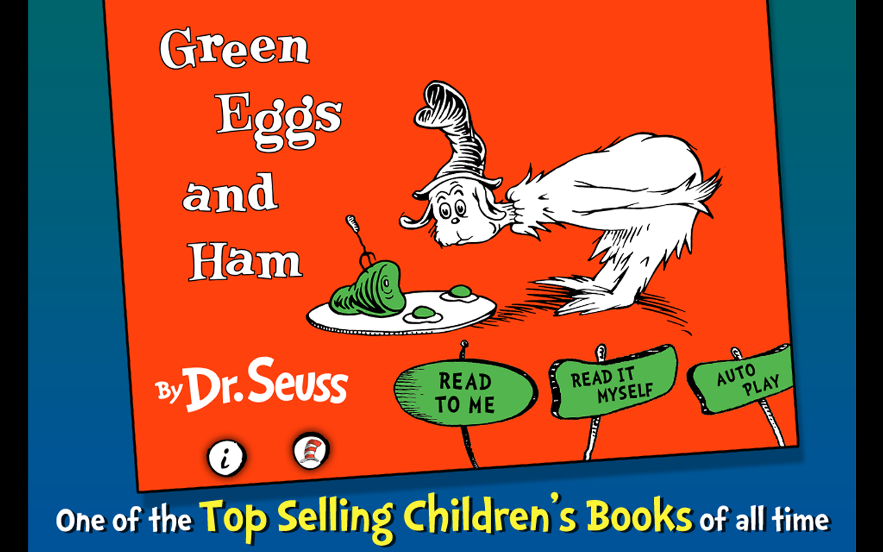 Green Eggs and Ham - Dr. Seuss Screenshot 8